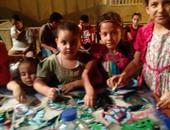 """بالفيديو.. قصر ثقافة طور سيناء ينظم ورشة للفنون التشكيلية بعنوان """"أشكال كرتونية"""""""