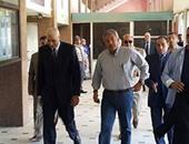 بالصور.. وصول وزير الشباب والرياضة السويس لافتتاح منشآت رياضية