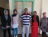 بالصور..أوائل الثانوية بجنوب سيناء: تفوقنا للوطن وبعد تخرجنا سنعمل بالمحافظة