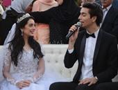 بالصور.. هبة مجدى ومحمد محسن قصة حب نشأت على خشبة المسرح وتحديا الأزمات