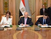 وزارة الإنتاج الحربى توقع مذكرة تفاهم لتصنيع الألواح الشمسية من الرمال