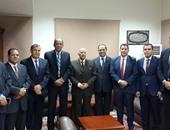 """رئيس نادى قضاة مصر يزور رئيس """"النيابة الإدارية"""" لتهنئته بتولى المنصب"""