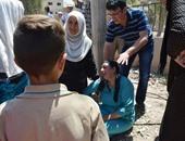 بالصور..بكاء وعويل بعد مقتل أكثر من 50 فى تفجيرى مدينة القامشلى السورية