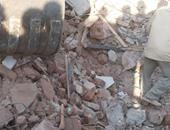 انهيار منزل من 4 طوابق بالمنيا دون وقوع إصابات