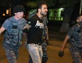 بالصور.. الشرطة الأرمينية تعتقل محتجزى الرهائن فى أحد مراكزها بيريفان