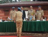 """سفيرنا بالكونغو يفتتح مسجد بمقر إقامة """"الشرطة المصرية"""" التابعة لـ""""المونسكو"""""""