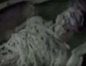 """""""إكسبرس"""" البريطانية تنشر فيديو لمومياء كائن فضائى داخل مقبرة فرعونية"""