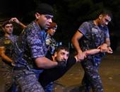 ارتفاع حصيلة المصابين لـ60 شخصًا فى اشتباكات الشرطة ومتظاهرين بأرمينيا