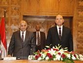 المندوبون المساعدون بهيئة قضايا الدولة يحلفون اليمين أمام وزير العدل