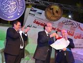 خالد جلال: كرمنا رموزا وطنية طوروا القناة ومبدعين جسدوا الحدث