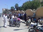 العاملون المؤقتون بالميكنة الزراعية بكفر الشيخ يعتصمون للمطالبة بصرف رواتبهم