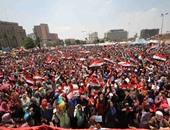 إعلان خارطة الطريق لحظة خلد فيها ميدان التحرير والميادين الرئيسية فرحة المصريين
