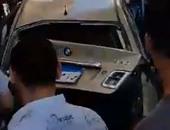 """إصابة 4 أشخاص إثر انقلاب سيارة على طريق """"طور سيناء- شرم الشيخ"""""""