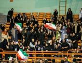 لأول مرة.. إيران تسمح للنساء بمشاهدة مباراة الكرة الطائرة داخل الملاعب