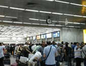 أمن المطار يلقى القبض على 44 مطلوبا لتنفيذ أحكام