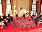بالصور.. رئيس الوزراء الإسرائيلى يلتقى قادة دول حوض النيل