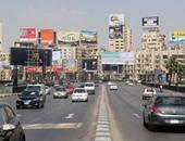 النشرة المرورية.. سيولة بكافة المحاور الرئيسية فى القاهرة والجيزة