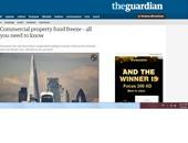 """الجارديان: توقعات بتعليق أعمال مزيد من صناديق الاستثمار ببريطانيا بعد """"الخروج"""""""