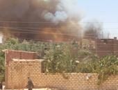النيابة تطلب التحريات وتقرير الأدلة الجنائية حول حريق مزرعة نخيل الصف