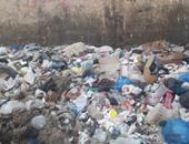 تراكم القمامة فى إمبابة..وسبب مجهول خلف فشل منظومة النظافة بالجيزة