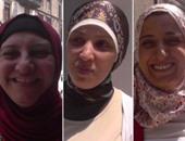 """بالفيديو.. """"الزوجات و العيديات"""" .. وسيدة : """"مقلبة جوزى أول بأول"""""""