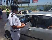 """""""المرور"""" تضبط ٤٧ سائقا يتعاطون المخدرات فى حملات مفاجئة"""
