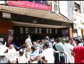 إقبال كبير على دور العرض السينمائية بمنطقة وسط البلد فى ثالث أيام العيد