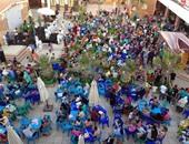 بالصور.. إقبال كبير على نادى مهندسى الإسكندرية فى اليوم الثالث من العيد