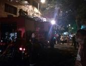 مصدر أمنى: إنقاذ مخزن معدات ثقيلة مجاور لحريق مصنع البدرشين