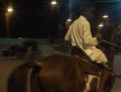 ضبط 9 أشخاص حاولوا تنظيم سباق للخيول بالأقصر