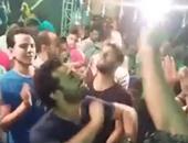 """بالفيديو.. محمد صلاح يرقص """"شعبى"""" فى أحد الأفراح"""