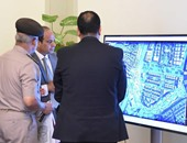 الرئيس السيسى يتابع معدلات الإنشاء للعاصمة الإدارية مع كامل الوزير ووزير الإسكان