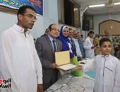 """""""حماة الوطن"""" يكرم الفائزين فى المسابقة الرمضانية لحفظة القرآن بقليوب"""