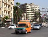 مصرع سائق فى حادث تصادم بين توك توك وسيارة ميكروباص فى كرداسة