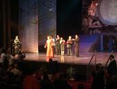 بالصور.. افتتاح المهرجان القومى للمسرح بفقرة تبين  تدهور حاله