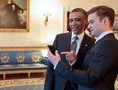 """""""جاستن تيمبرليك وأوباما"""" الصورة الأكثر انتشارا على """"تويتر"""" هذا الأسبوع"""