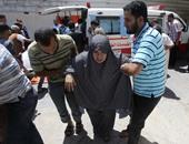 مقتل مسعف وامرأة فى قصف إسرائيلى على رفح