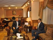 بدء اجتماع رئيس الأهلى مع وزير الرياضة