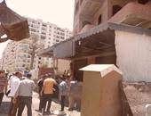 أمن القليوبية يشن حملة مرور ومرافق لإزالة الإشغالات فى شوارع قليوب