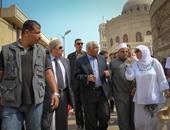 محافظ القاهرة لممثلى الآثار: أحبالكم طويلة وخطواتكم بطيئة
