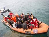البحرية الليبية تنقذ 105 مهاجرين غير شرعين من الغرق بعد تعطل قاربهم