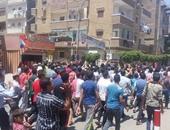 """الأهالى ينظمون مسيرة ضد جماعة الإخوان الإرهابية بموقع """"تفجيرات المحلة"""""""