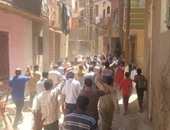 قوات الأمن تفرق تظاهرات إخوانية تحتج على سجن مرسى فى الجيزة