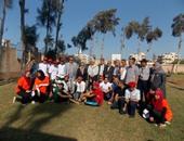 جامعة المنصورة تشارك بأعمال الملتقى الأول لجوالة الجامعات المصرية والعربية