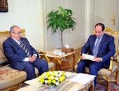 السيسى يستقبل وزير خارجية الجزائر لبحث أوضاع ليبيا وغزة والعراق