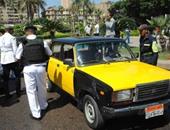 """""""مرور الإسكندرية"""" يُزيل 12 موقفا عشوائيا للسيارات"""