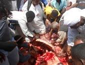 بالفيديو والصور.. السودانيون يقدمون الذبائح احتفالا بافتتاح ميناء قسطل