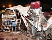إصابة 5 أشخاص فى حادث اصطدام سيارة بتوك توك فى إدفو