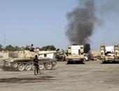 """قصف جوى على مواقع متطرفة فى مدينة """"درنة"""" الليبية"""