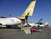 اصطدام طائرتين فى مطار مينسك الوطنى ببيلاروسيا